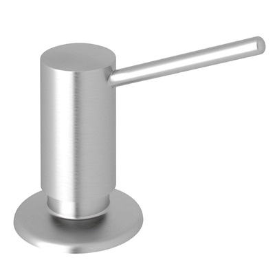 Rohl® LS450L-SS Delux II Soap/Lotion Dispenser, 12 fl-oz, Brass, Stainless Steel