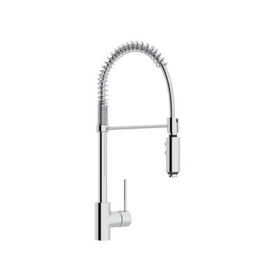 Rohl® LS64L-APC-2 Modern Architectural Pull-Down Kitchen Faucet, 1.8 gpm, 1 Faucet Hole, Polished Chrome, 1 Handle