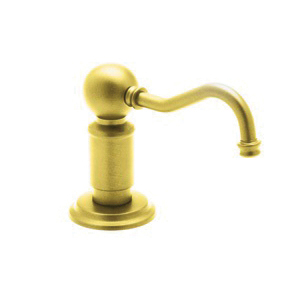 Rohl® LS850P-IB Perrin and Rowe® Traditional Soap/Lotion Dispenser, 12 fl-oz, Brass, Inca Brass