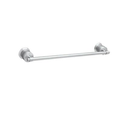 Rohl® MB1/24-APC Michael Berman Single Towel Bar, 24 in L Bar, 3-1/8 in OAD, Brass