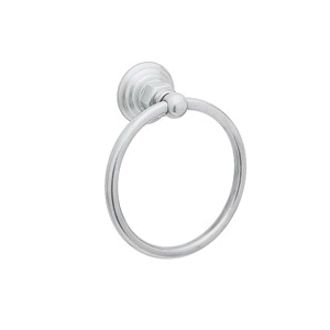 Rohl® ROT4-APC Country Bath Towel Ring, 6-1/4 in Dia Ring, 2-3/4 in OAD, Solid Die Cast Metal