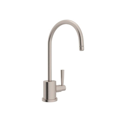 Rohl® U.1601L-STN-2 Perrin & Rowe® Contemporary Filter Faucet, 0.5 gpm, 1 Handle, Satin Nickel