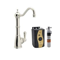 Rohl® Perrin & Rowe® U.KIT1321L-PN-2 Traditional Hot Water Dispenser Kit, Deck Mount, Polished Nickel
