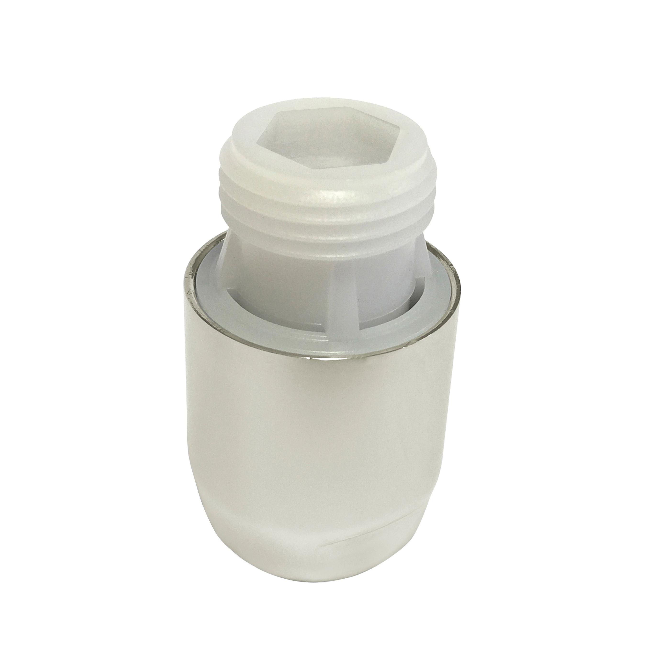 Rohl® V00275-PN Finished Vacuum Breaker, 1/2 in, Male x Female, Brass Body
