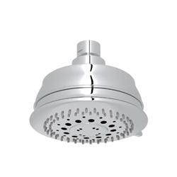 Rohl® WI0197-APC Baltera/Spa Shower Multi-Function Shower Head, 2 gpm, 3 Sprays, 4-11/32 in Dia x 3-35/64 in H Head