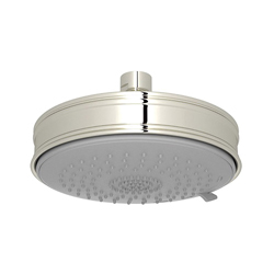 Rohl® WI0198-PN Baltera/Spa Shower Multi-Function Shower Head, 2 gpm, 3 Sprays, 5 11/16 in Dia x 1-43/64 in H Head