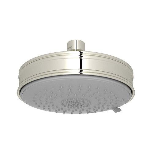 Rohl® WI0198-PN Baltera/Spa Shower Multi-Function Shower Head, 2 gpm, 3 Sprays, 5 11/16 in Dia x 1-43/64 in H Head