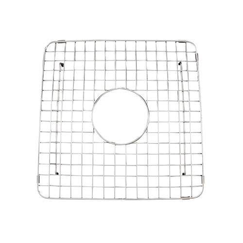 Rohl® WSG3719-SS Wire Sink Grid, 15-1/8 in L x 15-1/8 in W x 1-3/8 in H, Stainless Steel