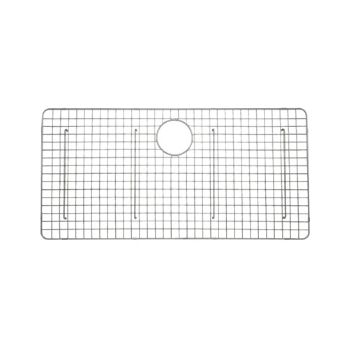 Rohl® WSGRSS3618-SS Wire Sink Grid, 35-1/8 in L x 17-5/16 in W, Stainless Steel