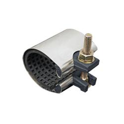 Romac® 150-2403 SC Series Pipe Repair Clamp, 2 in Pipe, 304 Stainless Steel, Domestic