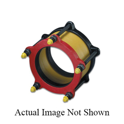 Romac® 201-E04R 501 End Ring, 4 in, Ductile Iron, Painted, Domestic