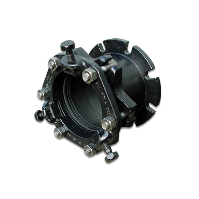 Romac® 230-132000 RFCA Coupling Adapter With Assembled Restraint, 12 in, Flange, Ductile Iron, Shop Coated, Domestic