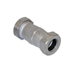 Romac® 279-0105 702 Coupling, 3/4 in, Compression, Ductile Iron, Galvanized, Domestic