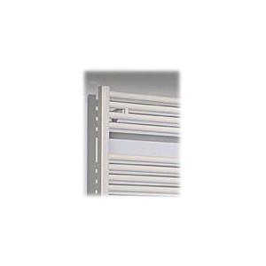 Runtal® Radia RTR-2924 Hydronic Towel Warmer Radiator, 1536 Btu/hr, 29 in H x 24 in W, 450 W 4.1 A, White