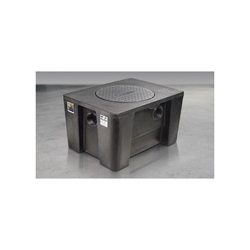 Schier 4070-001-01 GB3 Grease Interceptor, 40 gal, 50/75 gpm, 4 in Inlet x 4 in Outlet, Domestic