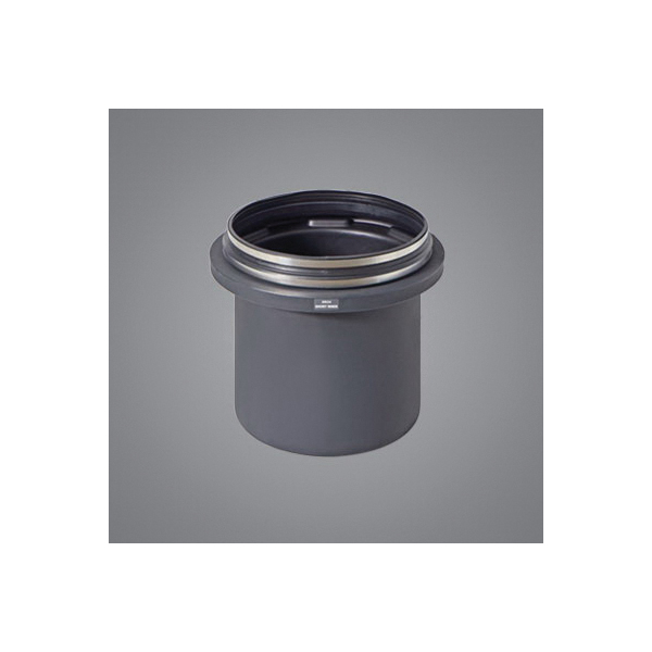Schier Great Basin™ SR24 Short Riser Extension System With Cover, For Use With Great Basin™ Model GB-35, GB-50, GB-75 and GB-250, Sewer Viewer™ Models SV24-L4 and SV24-O4, Foot™ Model Grease Interceptor, Molded Polyethylene, Domestic