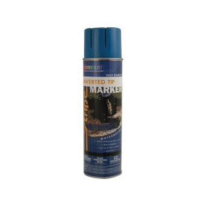 SEYMOUR® STRIPE® 20-652 Water Based Inverted Tip Marker, 20 oz, Aerosol, White, 15 min Curing