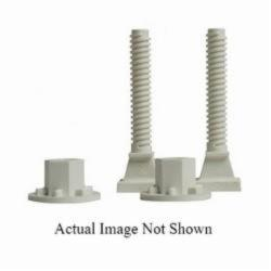 Sioux Chief PlumbPerfect™ 427-PB Closet Bolt, 3-1/2 in x 1-15/16 to 2-15/16 in L Thread, 2-1/2 to 3-1/2 in OAL, Brass, Domestic
