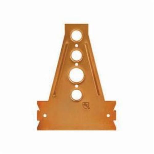 Sioux Chief 521-6415 Stub Out Bracket With Stud Guard, Steel, Copper Plated, Domestic
