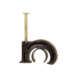 Sioux Chief TubeTalon™ 555-23 Double Duty Tube Hanger Drive Hook, 1/2 x 3/4 in CTS Pipe/Tube, 21 lb Load, Polyethylene, Domestic