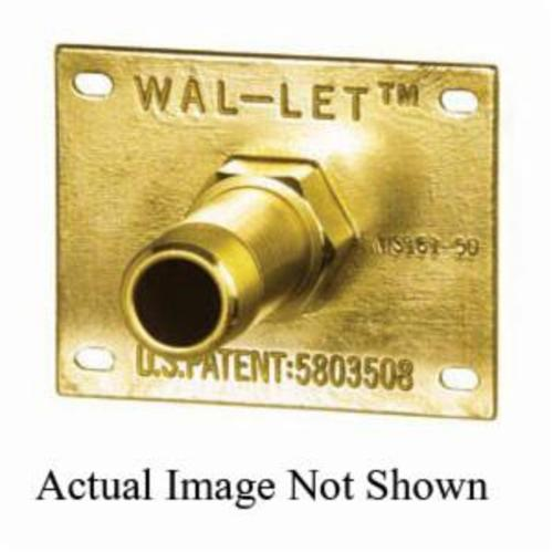Tomahawk WalLet™ 615-213 Wall Termination Fitting, 1/2 in, FNPT x Female C, Domestic