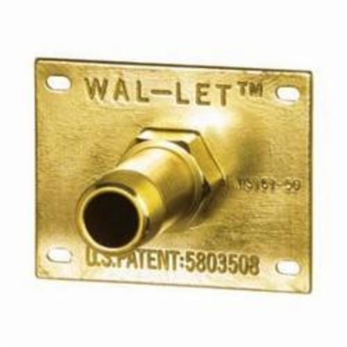 Sioux Chief WalLet™ 615-233 Wall Termination Fitting, 1/2 in, FNPT, Brass