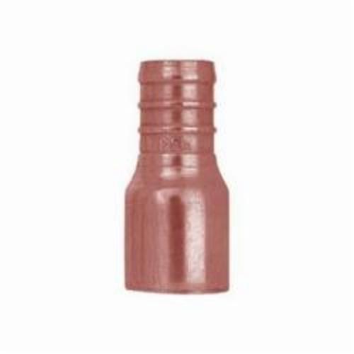 Sioux Chief 643X4 1-Piece Straight Adapter, 1 in, F1807 PowerPEX® Crimp™ x Male C, Copper, Domestic