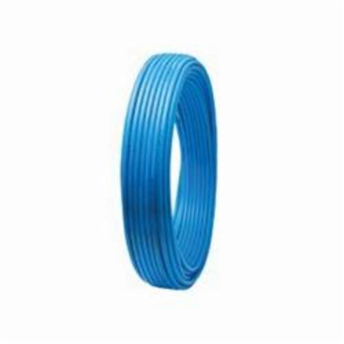 Tomahawk PowerPEX® 665X2B100 Type B Tubing, 1/2 in Nominal, 5/8 in OD x 100 ft L, Blue, Silane Graft, PEX, Domestic