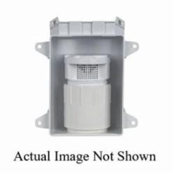 Sioux Chief TurboVent™ 696-12A Air Admittance Valve With Adapter, 2 in, Thread x Hub, 13 psi, ABS Body, Domestic