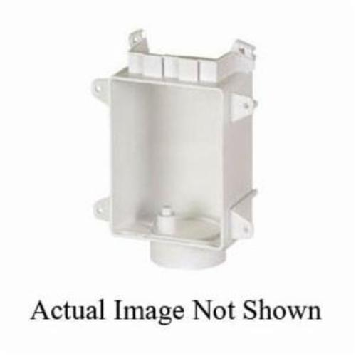 Sioux Chief OxBox™ 696-3 Drain Box, 3 in Inlet, ABS, Domestic