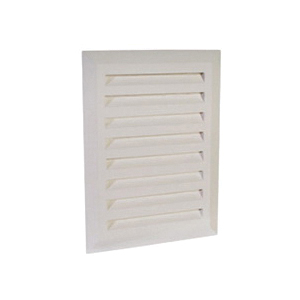 Sioux Chief OxBox™ 696-LC Louvered Frame Cover Insert, ABS, Domestic