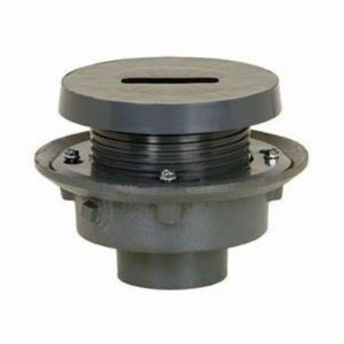 Sioux Chief FinishLine™ 833-23F Adjustable Rough-In Flashing Drain With Coring Plug, 3 in, Cast Iron Drain, Domestic
