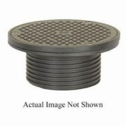 Sioux Chief FinishLine™ 834-4DHNR Adjustable Drain Cleanout, 3-1/2 in Cleanout, 15000 lb, 6-1/2 in Dia Cover, Ductile Iron