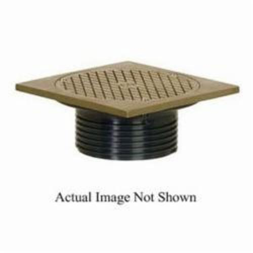 Sioux Chief FinishLine™ 834-4PF Adjustable Drain Cleanout, 4 in Cleanout, PVC