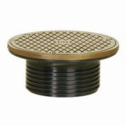 Sioux Chief FinishLine™ 834-4HNR Adjustable Drain Cleanout, 4 in Cleanout, 4000 lb, 6-1/2 in Dia Cover