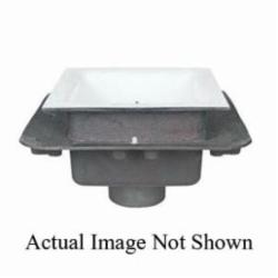 Tomahawk 861-22XF Floor Sink With Flange, 2 in, 12 in, Cast Iron Drain, Domestic