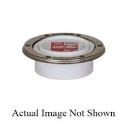 Sioux Chief TKO™ 886-4PTMSPK Open Closet Flange With Stainless Steel Swivel Ring, 4 in, Spigot, SCH 30, PVC, Domestic