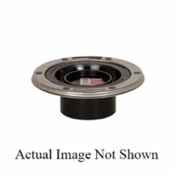 Sioux Chief TKO™ 886-ATMSPK Open Closet Flange With Stainless Steel Swivel Ring, 3 in Spigot Pipe, ABS, Domestic