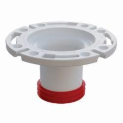 Sioux Chief PushTite™ 888-GPM Open Closet Flange With Plastic Ring, 3 in, SCH 40/STD, ABS, Domestic