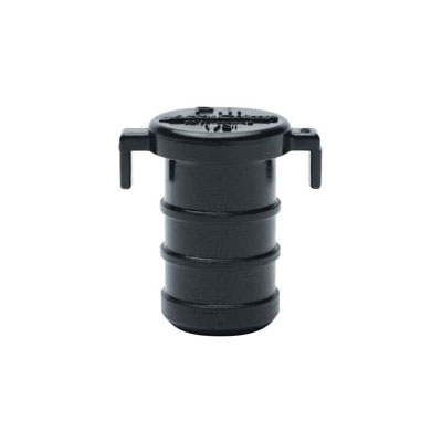 Sioux Chief 640XP12 Plug, 1/2 in, F2159 PowerPEX® AccuCrimp™, Polysulfone/ACUDEL® Polyphenylsulfone, Domestic