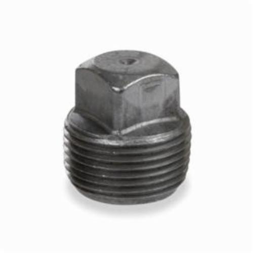 Smith-Cooper® 23SP4004 Square Head Pipe Plug, 1/2 in, NPSC, Carbon Steel, Black Oxide
