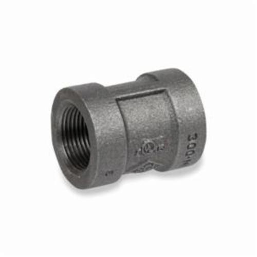 Smith-Cooper® 33CP3006C Banded Coupling, 3/4 in, NPT, 300 lb, Malleable Iron, Black