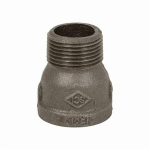 Smith-Cooper® 33EP1010C Extension Piece, 1 in, NPT, 150 lb, Malleable Iron, Black