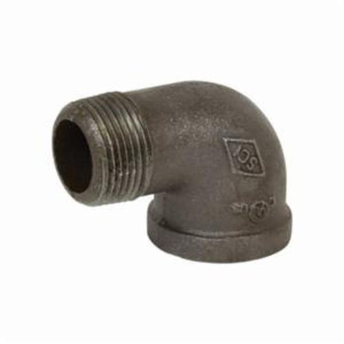 Smith-Cooper® 33SE1004C 90 deg Street Elbow, 1/2 in, NPT, 150 lb, Malleable Iron, Black