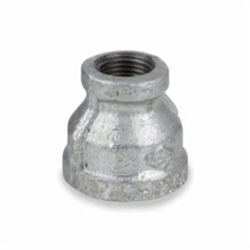 Smith-Cooper® 34RC1006002C Reducing Pipe Coupling, 3/4 x 1/4 in, NPT, 150 lb, Malleable Iron, Galvanized