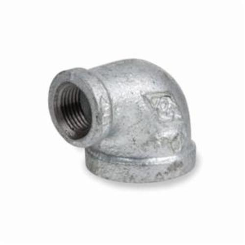 Smith-Cooper® 34RE1030024C 90 deg Reducing Pipe Elbow, 3 x 2-1/2 in, NPT, 150 lb, Malleable Iron, Galvanized