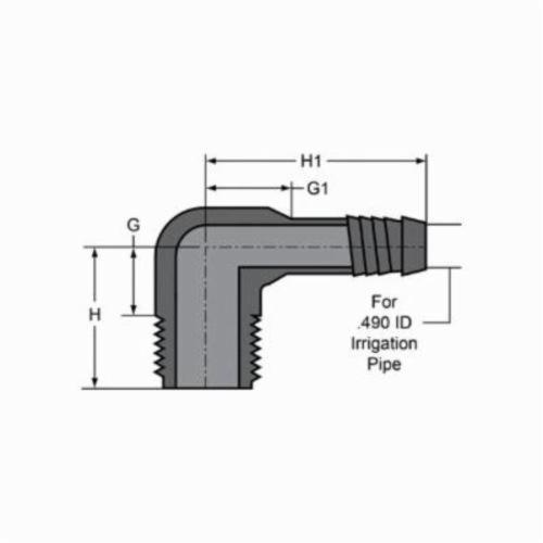 Consolidated Supply Co    Spears® 1413-099 90 deg Reducing Pipe