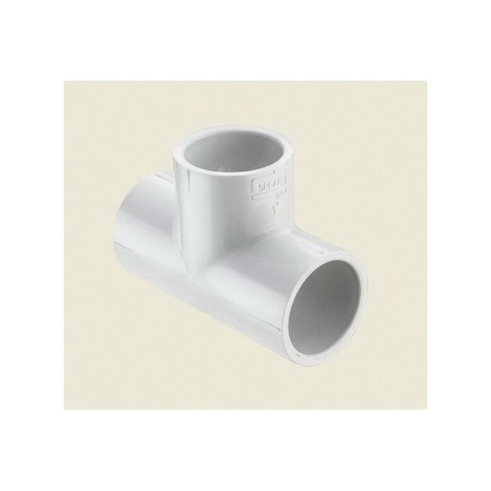 Spears® 401-010 Standard Pipe Tee, 1 in, Socket, SCH 40/STD, PVC, Domestic