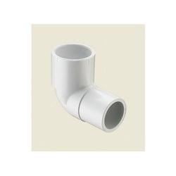 Spears® 409-010 Standard 90 deg Street Elbow, 1 in, Spigot x Socket, SCH 40/STD, PVC, Domestic