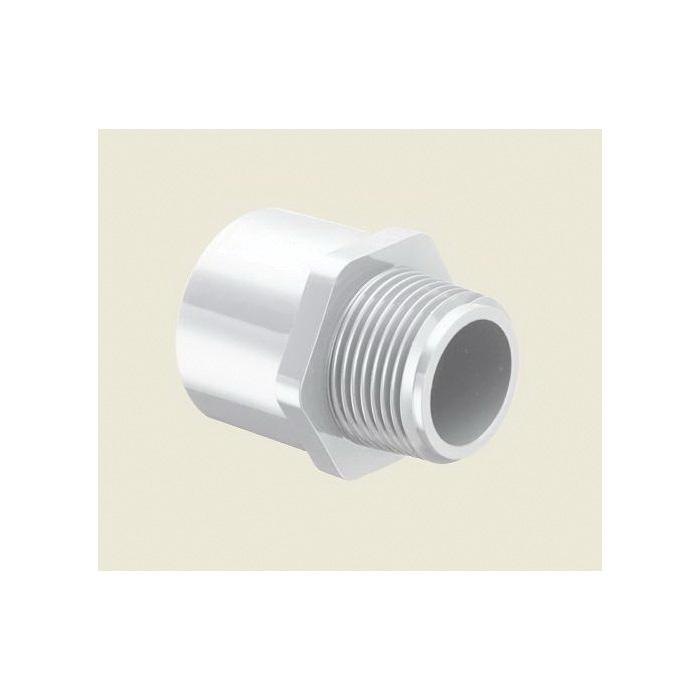 Spears® 436-010 Standard Pipe Adapter, 1 in, MNPT x Socket, SCH 40/STD, PVC, Domestic